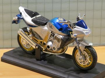 Picture of Motor 1:18 Haixing blue