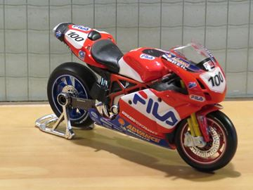 Afbeelding van Neil Hodgson Ducati 999 #100 1:18 los