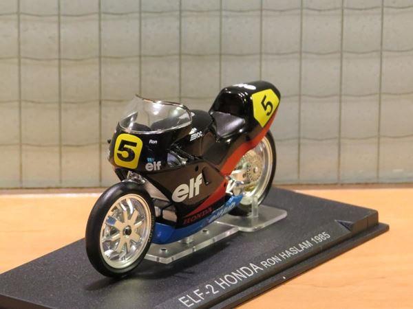 Picture of Ron Haslam Honda NSR500 1985 1:24 barst