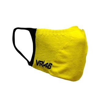 Afbeelding van Valentino Rossi social distance mask yellow VRUMA407501