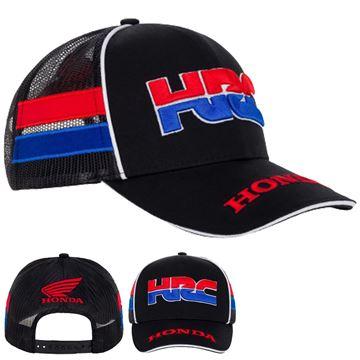 Afbeelding van Honda HRC Racing trucker cap pet 2048002