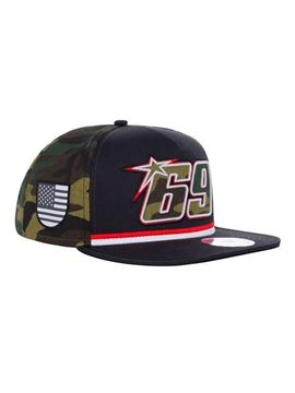 Picture of Nicky Hayden #69 Camo trucker flat cap / pet 2044003