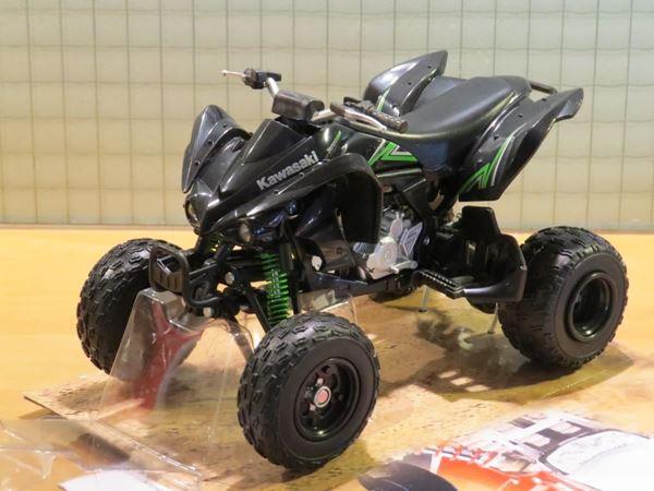 Picture of Kawasaki KFX 450R quad 1:12 black