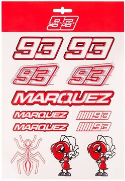 Picture of Marc Marquez stickers big 2053019
