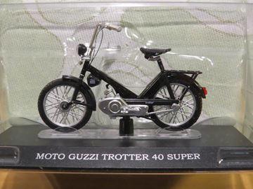 Afbeelding van Moto Guzzi Trotter 40 super brommer 1:18 (M023)
