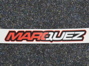Picture of Marc Marquez sticker text name big