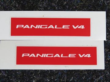 Afbeelding van Ducati Panigale V4 sticker set red