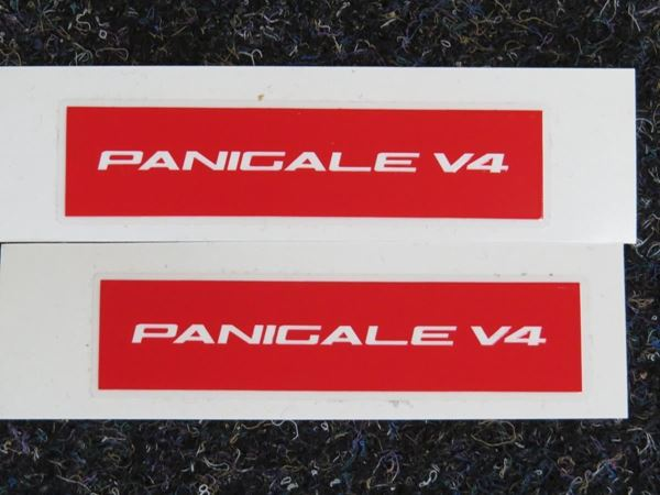Picture of Ducati Panigale V4 sticker set red