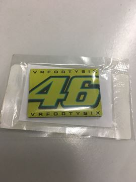 Picture of Valentino Rossi 46 magnet koelkast magneet VRUMGPAT601
