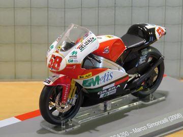 Picture of Marco Simoncelli Gilera RSA 250 2008 1:18
