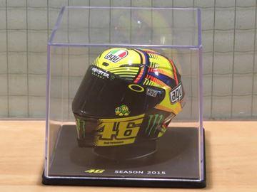 Picture of Valentino Rossi AGV helmet 2015 1:5