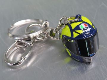 Picture of Valentino Rossi 3D helmet replica key ring VRUKH355903