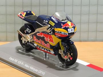 Picture of Marc Marquez Derbi RS 125 2010 Moto 3 1:18 diecast