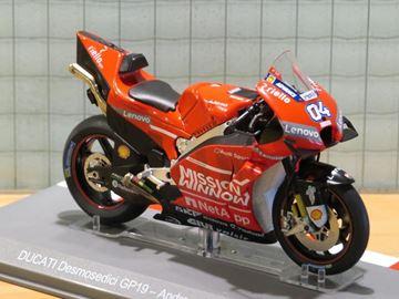 Afbeelding van Andrea Dovizioso Ducati Desmosedici 2019 1:18
