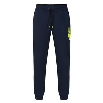 Picture of Valentino Rossi Core pants jogging broek blue COMPA326002