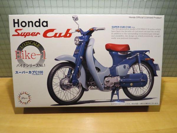 Picture of Bouwdoos Honda Super Cub C100 1:12 Fujimi