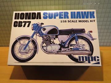 Picture of Honda Super Hawk CB77 1:16 mpc898/12