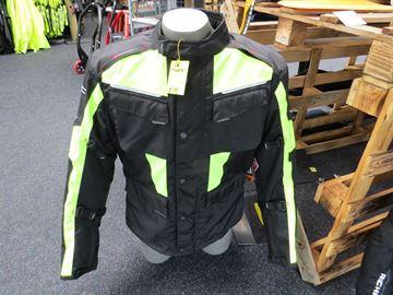 Afbeelding van GC Tiger 2 jas wind en waterdicht fluo geel/ zwart