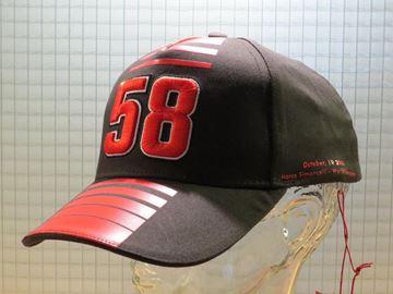 Afbeelding van Marco Simoncelli baseball cap pet 58 1945003