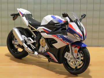 Picture of BMW S1000RR wht/blue 1:12