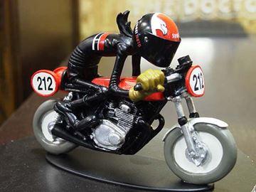 Afbeelding van Joe Bar Chris Deb Honda CB350 1:18 JB33 los