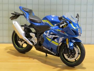 Afbeelding van Suzuki GSX-R1000 blue 1:12 88489