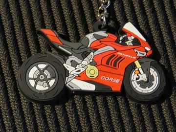 Picture of keyring sleutelhanger Ducati Panigale