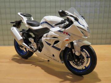 Afbeelding van Suzuki GSX-R1000 white 1:12 88489