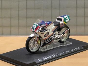 Afbeelding van Luca Cadalora Honda NSR250 1991 1:24