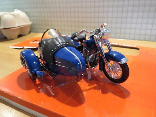 Picture of Harley Davidson sidecar  / zijspan FL Hydra Glide 1:18