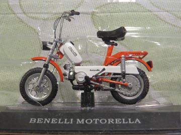 Afbeelding van Benelli Motorella brommer 1:18 (M045)