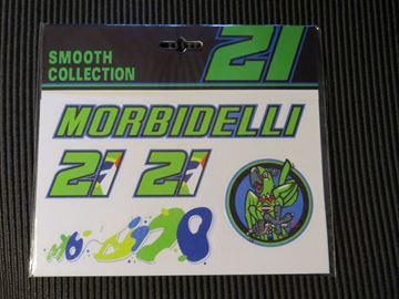 Afbeelding van Franco Morbidelli medium stickerset FMUST332303