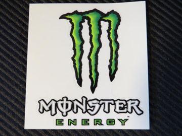 Afbeelding van Sticker Monster Energy 9x8