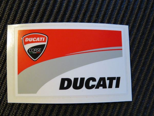 Picture of Ducati corse new vlag sticker