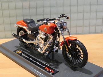 Afbeelding van Harley Davidson FXSB Breakout 1:18 oranje (n81)