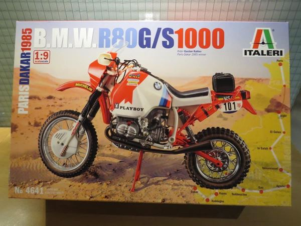 Picture of BMW R80GS bouwdoos 1:9 4641