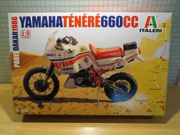 Picture of Yamaha Tenere 660 bouwdoos 1:9 4642