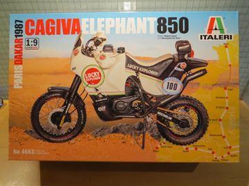 Afbeelding van Cagiva Elephant 850 bouwdoos 1:9 4643