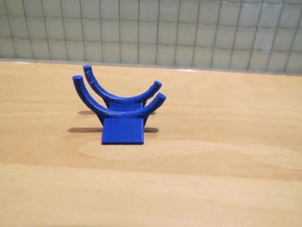 Picture of bike display stand bokje 1:18 blue