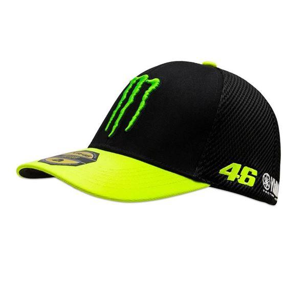 Picture of Valentino Rossi mid visor sponsor cap pet MOMCA409804