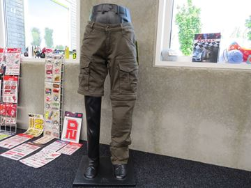 Afbeelding van Macna kevlar jeans  met afritsbare pijpen