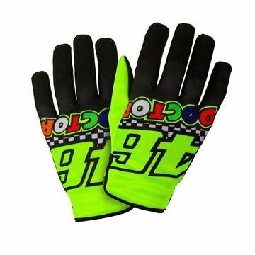 Afbeelding van Valentino Rossi the doctor gloves VRUGV400003