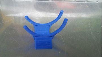 Afbeelding van bike display stand wide bokje 1:12 blue