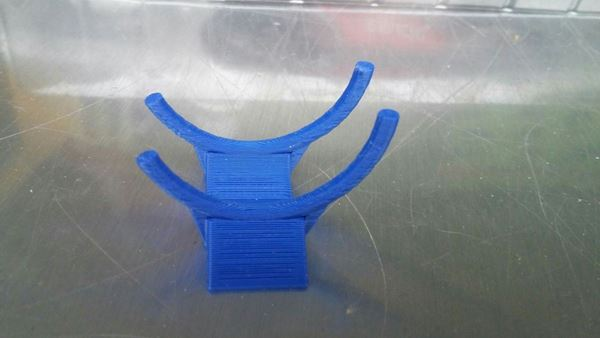 Picture of bike display stand wide bokje 1:12 blue