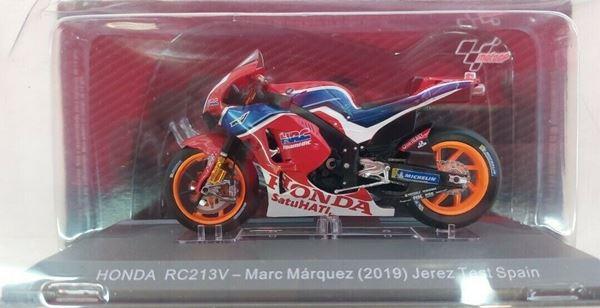 Picture of Marc Marquez Honda RC213V test Jerez 2019 1:18 diecast