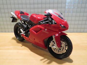 Afbeelding van Ducati 1198 red 1:12 57143 2e edition
