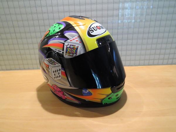 Picture of Jurgen v/d Goorbergh Suomy helm 2001 1:2 326016617