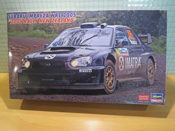 Afbeelding van Valentino Rossi Subaru Impreza wrc New Zealand rally 2006 1:24