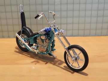 Afbeelding van Iron Choppers 1:18 blue